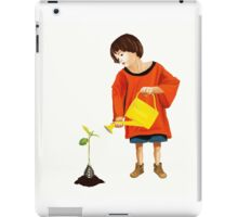 I Still Can See Life Wherever You Try To Fade It iPad Case/Skin