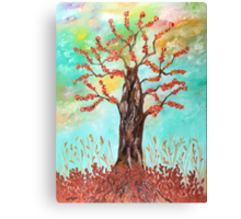 Tree of joy Canvas Print