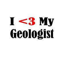 Geologist Photographic Print