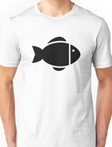 Fish icon Unisex T-Shirt