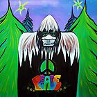 Bigfoot Peace by Laura Barbosa