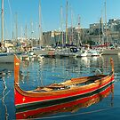 The Maltese Dghajsa by Xandru