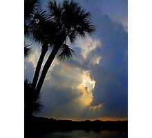 tropical rays Photographic Print