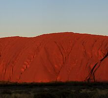 Uluru - Red Sunset by Bartt