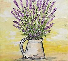 Fresh lavender by Loredana Messina