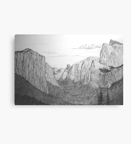 Yosemite National Park, California Canvas Print
