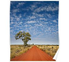 The Gunbarrel Highway - warning: upsized to 220% to make large poster possible. Keep your viewing distance. Poster
