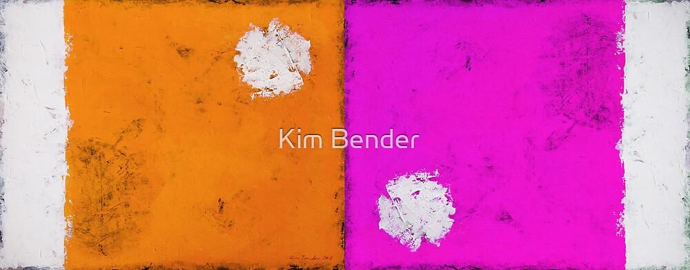 Orange and Pink! by Kim Bender