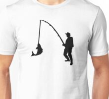Fisherman rod Unisex T-Shirt