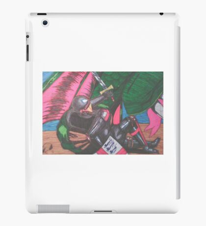 st george and the dragon iPad Case/Skin