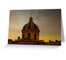 INSTITUT DE FRANCE (CARD ONLY) Greeting Card