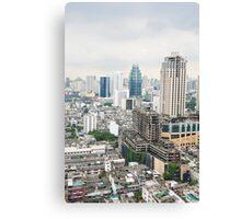Downtown Bangkok Canvas Print