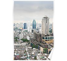 Downtown Bangkok Poster