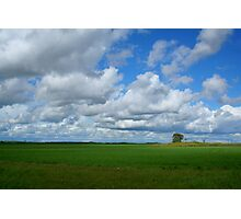 Clouds Galore Photographic Print
