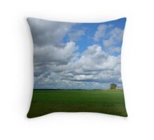 Clouds Galore Throw Pillow