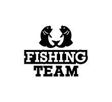 Fishing team Photographic Print