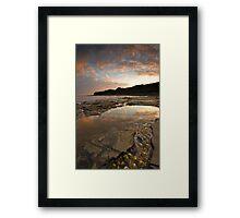 Jurrasic coast Framed Print