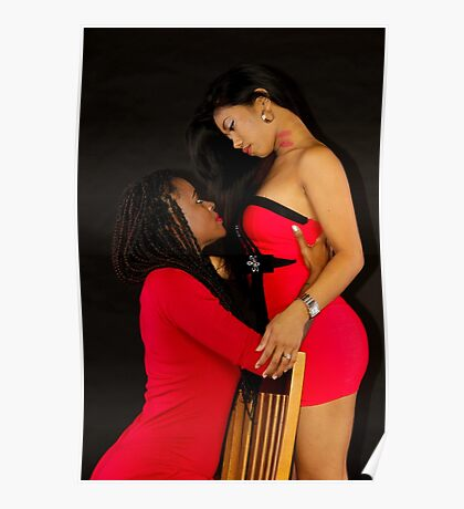 The Models Kierra and J-Rain Poster