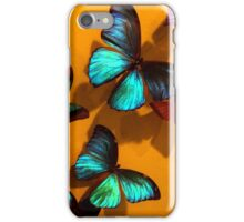 Iridescent Butterflies iPhone Case/Skin