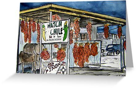 Hatch Chili New Mexico by derekmccrea