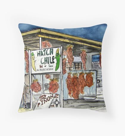 Hatch Chili New Mexico Throw Pillow