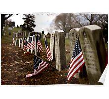 Fallen Flag Poster