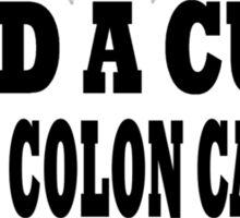 Colon Cancer Sticker