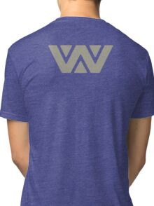 Aaron Weyland Alien 3 (Back) Tri-blend T-Shirt