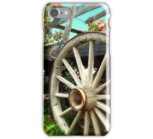 Wheels and Blooms iPhone Case/Skin