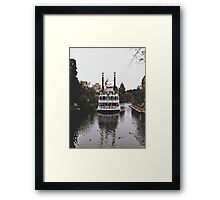 Mark Twain Riverboat  Framed Print