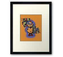 Doctor Jelly Baby Framed Print