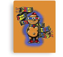 Doctor Jelly Baby Canvas Print