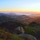 Sunrise Over San Fernando Valley by Glenn McCarthy