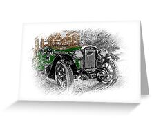 The Oul Austin Greeting Card