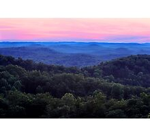 Shawnee State Forest, Scioto County Ohio Photographic Print