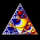 Sierpinski Triangle 2015 002 by Rupert Russell