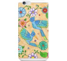 Playful Hummingbirds iPhone Case/Skin