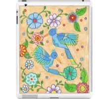Playful Hummingbirds iPad Case/Skin