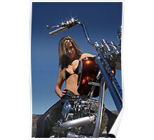 Jerrika-Zachy's Custom Rods  Poster
