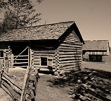 Corn Crib II by Gary L   Suddath