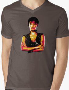 Fish Mooney Mens V-Neck T-Shirt