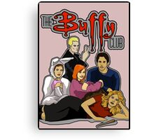 The Buffy Club Canvas Print