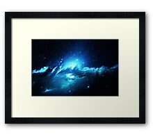 Nebula Dream - Laptop Skins Framed Print