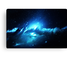 Nebula Dream - Laptop Skins Canvas Print