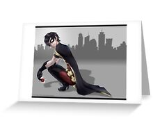 young justice robin Greeting Card