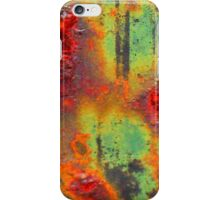 Colours of a Rusty Sign iPhone Case/Skin