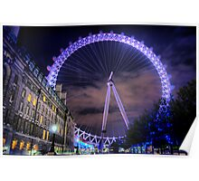 London Eye Hdr Poster