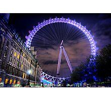 London Eye Hdr Photographic Print