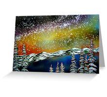 Christmas at Lake Tahoe, California Greeting Card