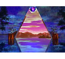 Pyramid Visions Photographic Print